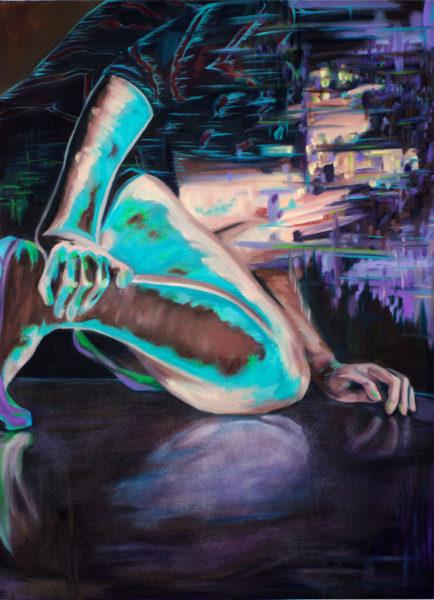 Brittany Kurtinecz Oil Painting Latency 2016 Imgae/jpg