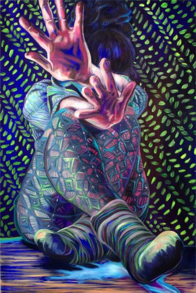 Brittany Kurtinecz Oil Painting Mirage 2016 Image/jpg